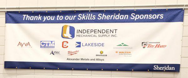 Skills Sheridan 2020 Sponsors