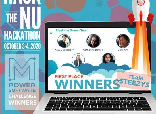 Mobile Computing student places first at Hack the NU