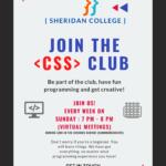 Coding Syndicate of Sheridan 2021 poster