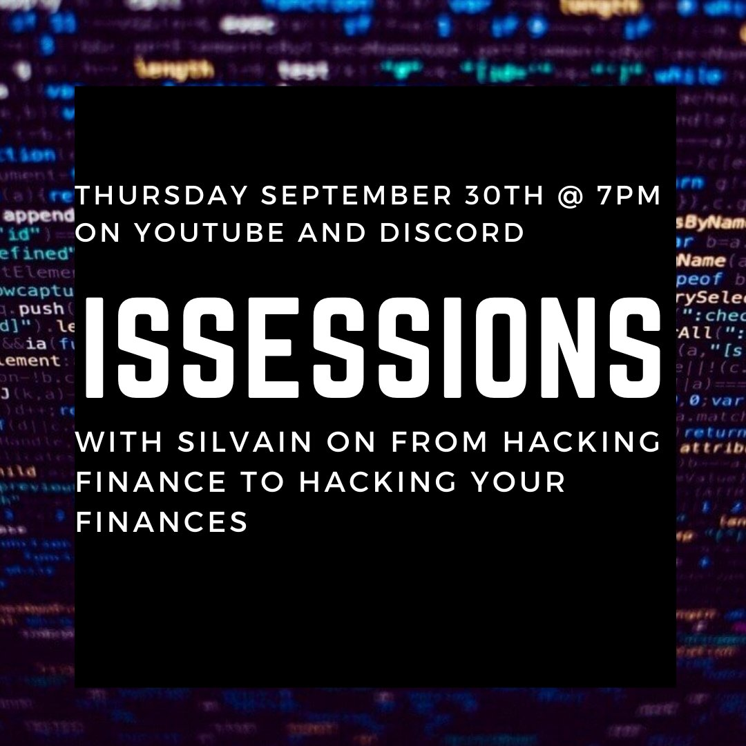 September 30th ISSessions