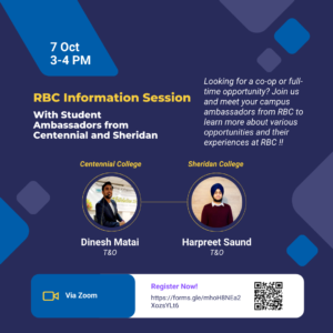 RBC Campus Ambassador info session